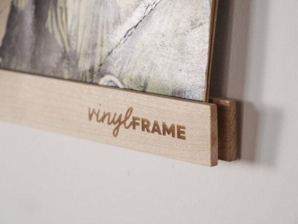 Vinyl Frame Maple closeup