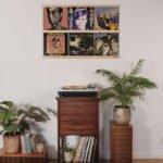 Vinyl Frame Maple totaal setting gemaakt door Hannah Bruijnzeel