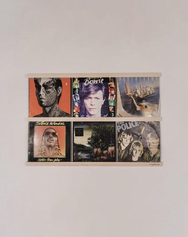Vinyl Frame Maple totaal gemaakt door Hannah Bruijnzeel