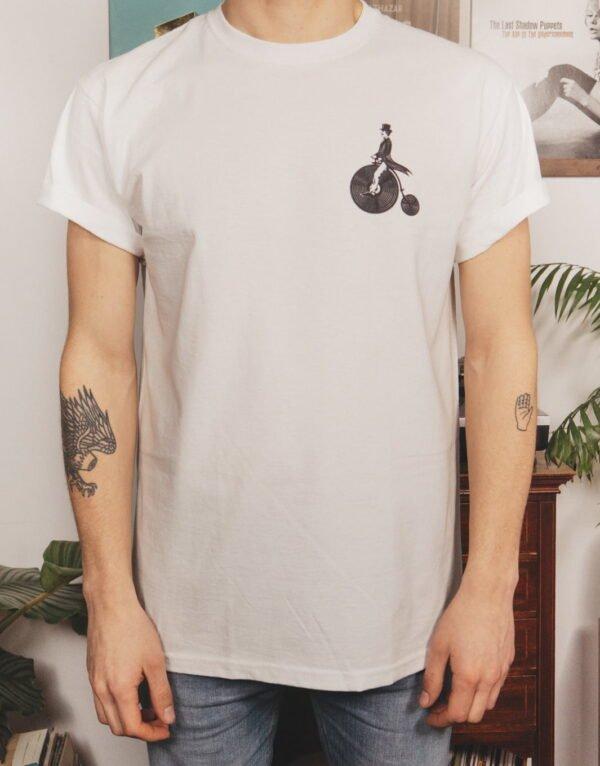 Het witte VinylFrame t-shirt voorkant