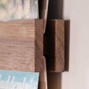 Vinyl Frame Mat Walnoot Hout Bijbestellen